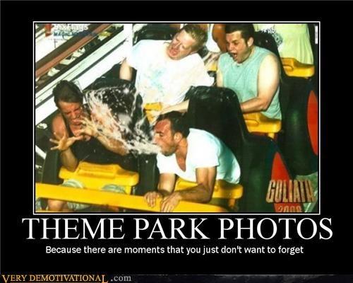 barf disaster gross mon mon mon Terrifying theme park vomit - 4029157120