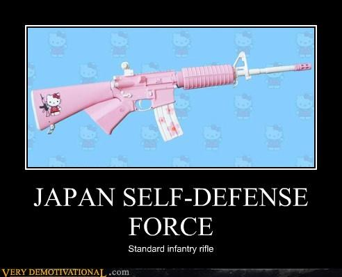 guns Hall of Fame hello kitty impossible Japan lol rifle wtf - 4029321472