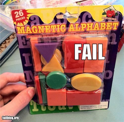 alphabet failboat g rated letters mislabeled shapes toys - 4029560320