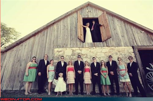 bride confusing farmyard chic fashion is my passion fashion squad funny wedding photos groom hipster wedding professional wedding photography reality tv sunglasses at the wedding were-in-love wedding party white trash wedding - 4029574656