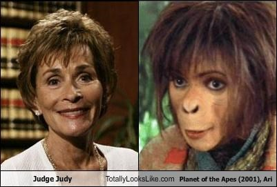 Ari,Judge Judy,monkey,movies,Planet of the Apes,TV