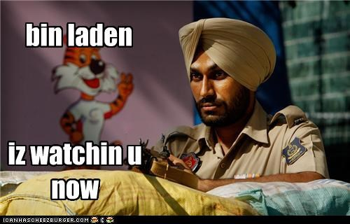 bin laden iz watchin u now
