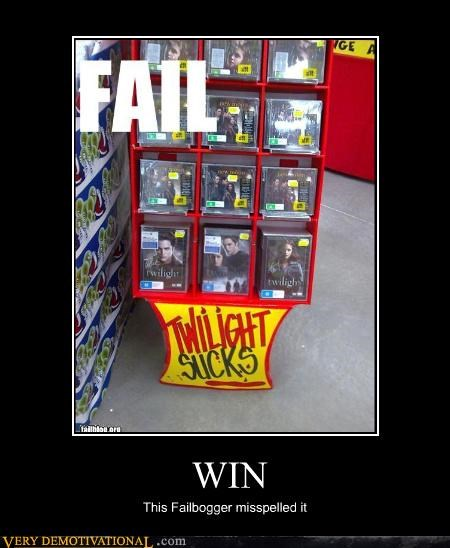 FAIL,just-kidding-relax,sucks,twilight,vampires,video store,win,wtf