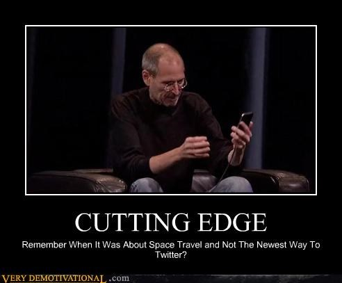 apple,disappointing,idiots,sad but true,steve jobs,the future,twitter