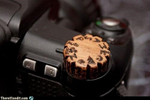 camera hand made Kludge wood - 4031698688