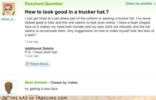 10-4 face hat holidays talk like a trucker day trucker - 4031782144