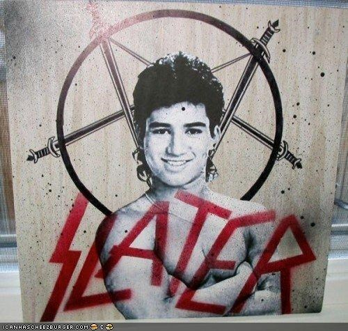 demon funny satan saved by the bell Slater viral - 4031817984