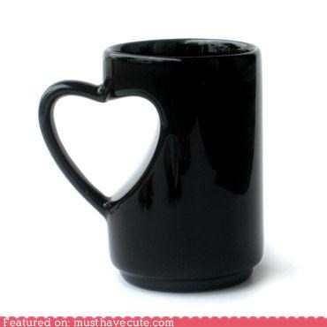 coffee cup cute-kawaii-stuff handle heart Kitchen Gadget mug tea - 4032321536
