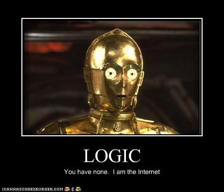 C-3PO internet logic lolz sci fi star wars - 4033348096