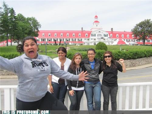 awesome jumping photobomb sweatshirts tension - 4033378304