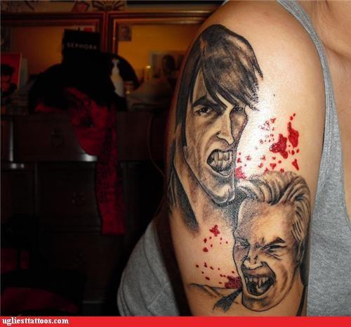 bloodnguts celeb pop culture portraits vampires - 4033860096