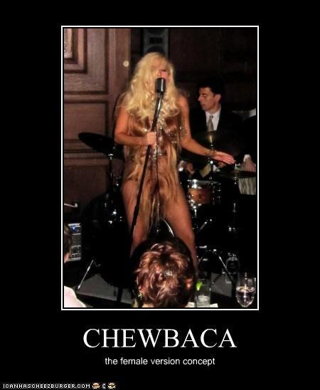 CHEWBACA the female version concept