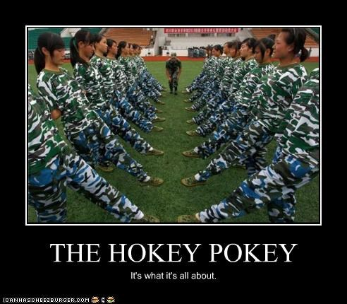 THE HOKEY POKEY It's what it's all about.