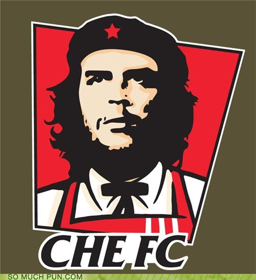 Che Guevara,chickens,commander,fast food,kfc,Marxism,revolution,status quo,the colonel