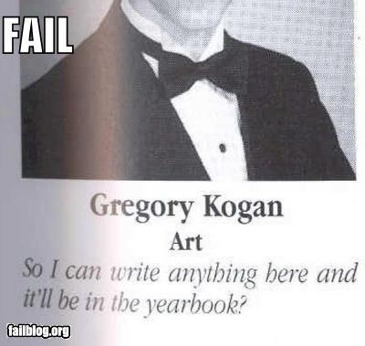 failboat g rated quotes verbatim yearbook - 4035480576
