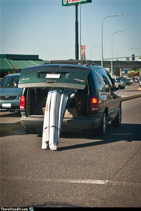 driving safety towing trailers trunk space van - 4036580096