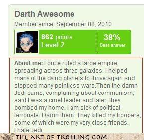 about me darth vader empire Jedi star wars win - 4038314496