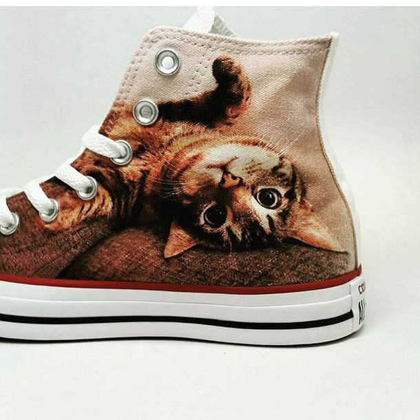 put your pet photo on your shoes