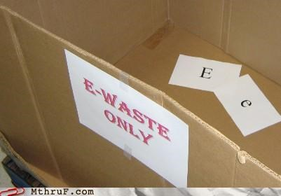 e-waste literal notes trash - 4041495552