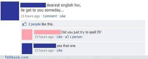 facepalm make your own fail nice try really The Spelling Wizard your friends are laughing at you - 4041498624