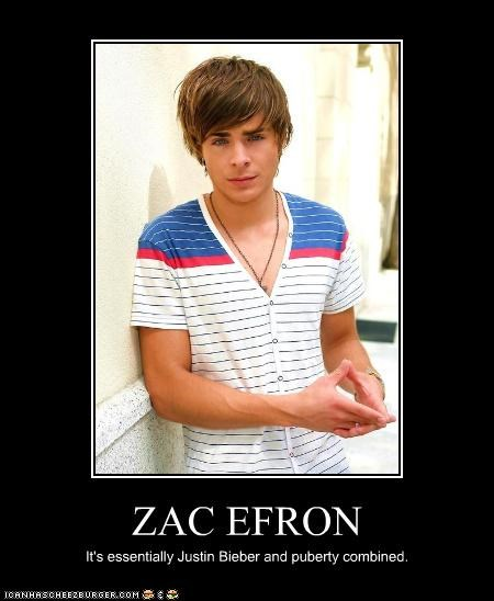 actor celeb demotivational funny Hall of Fame zac efron