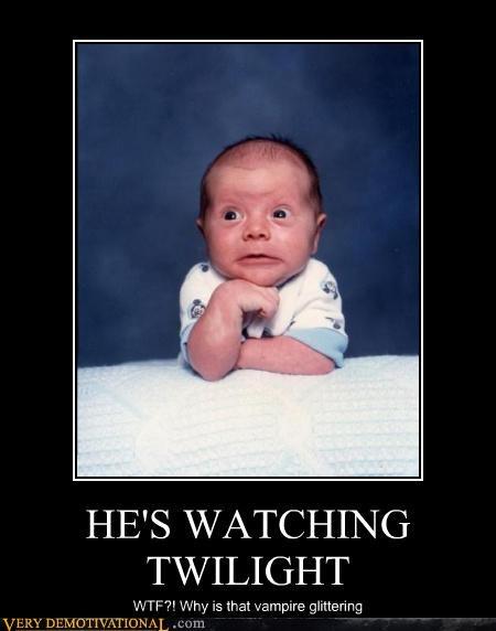 Babies cute funny Sad twilight wtf - 4042243328