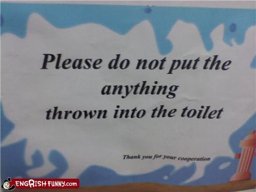 bathroom poorly worded rule sign warning - 4042541312