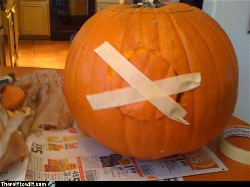 halloween jack-olantern masking tape pumpkins - 4042740224