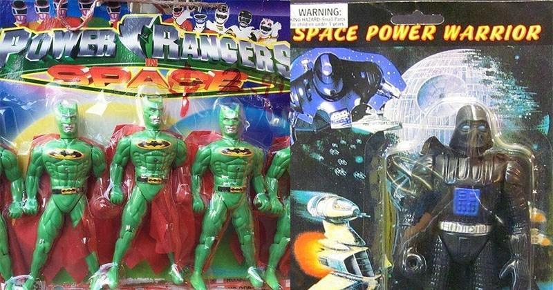 juguetes falsos