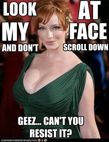 actor celeb Christina Hendricks funny sexy - 4042997248