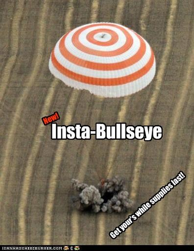 Insta-Bullseye New! Get your's while supplies last!
