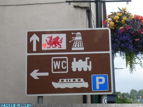 dalek doctor who dragon sign - 4043698688