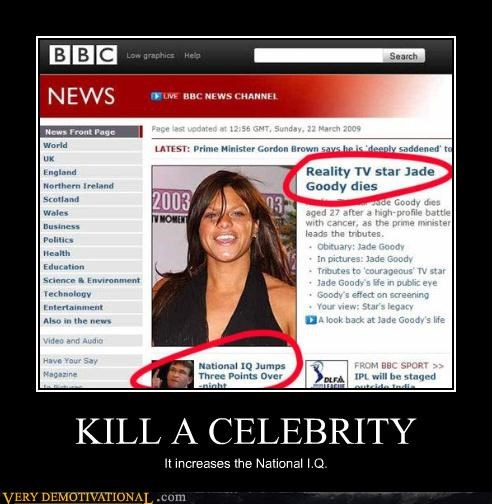 bbc,celeb,Death,just-kidding-relax,Mean People,murder,news,Sad,wtf