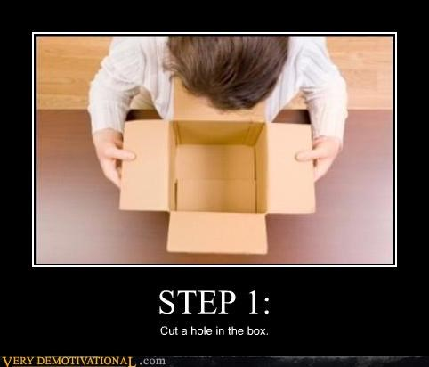 box hilarious instructions peen pickle surprise rules steps think about it whats in the box