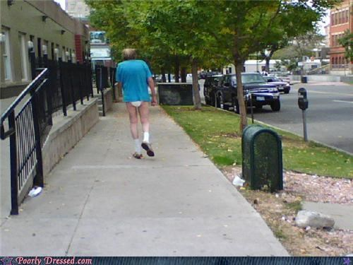 diaper Grandpa no pants old people