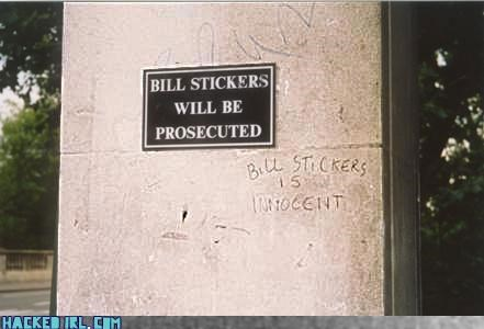 bill stickers capitol hill classic - 4045348096
