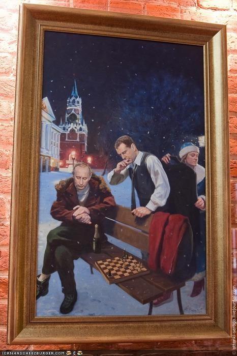 art Dmitry Medvedev Vladimir Putin vladurday - 4045986560