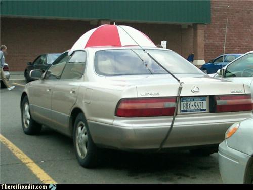 car leaky sunroof umbrella waterproof - 4046536704