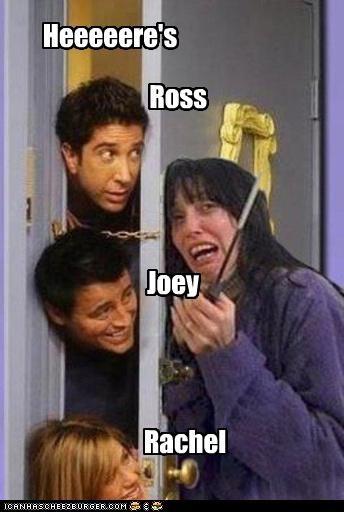 Heeeeere's Ross Rachel Joey