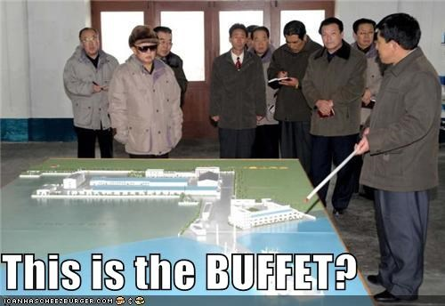 buffet,dictators,food,Kim Jong-Il,North Korea