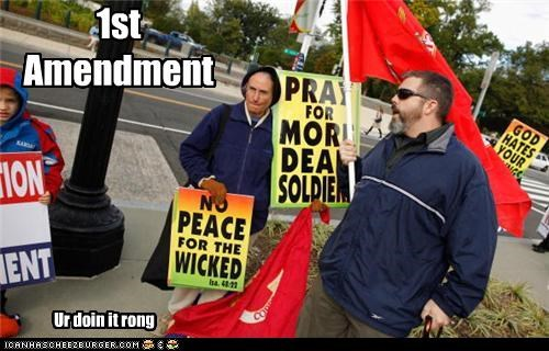 1st Amendment Ur doin it rong