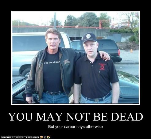 actor celeb david hasselhoff demotivational funny - 4047705088