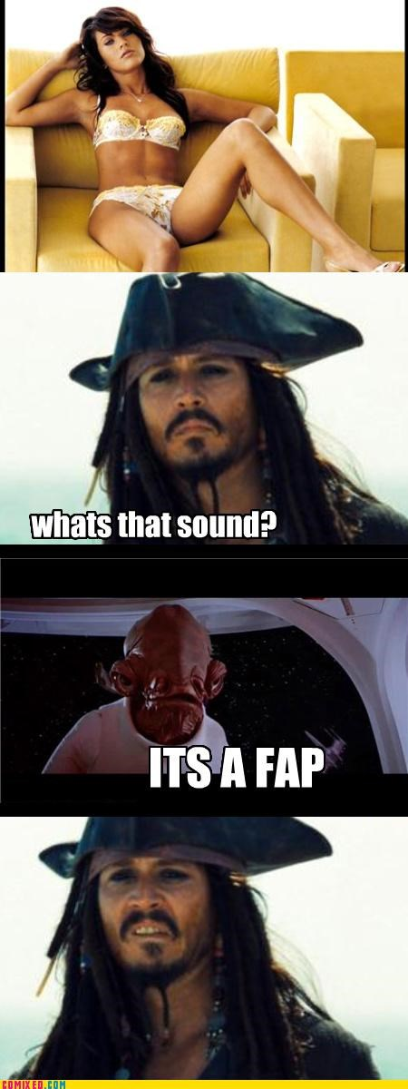 admiral ackbar babes captain jack sparrow couch fap From the Movies mon calamari pirates star wars - 4047814400