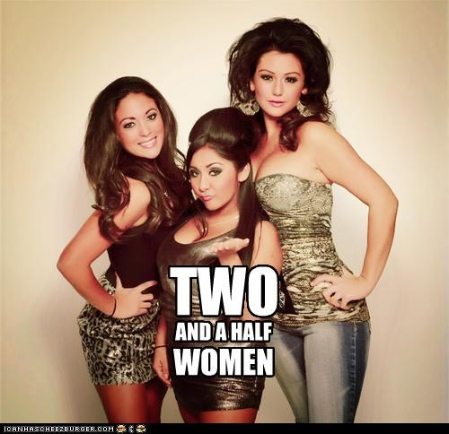 TWO AND A HALF WOMEN