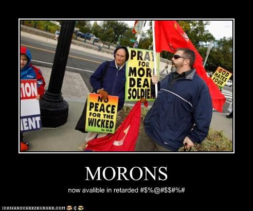 MORONS now avalible in retarded #$%@#$$#%#