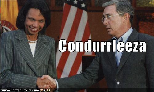 Condoleezza Rice,derp,expression,handshakes