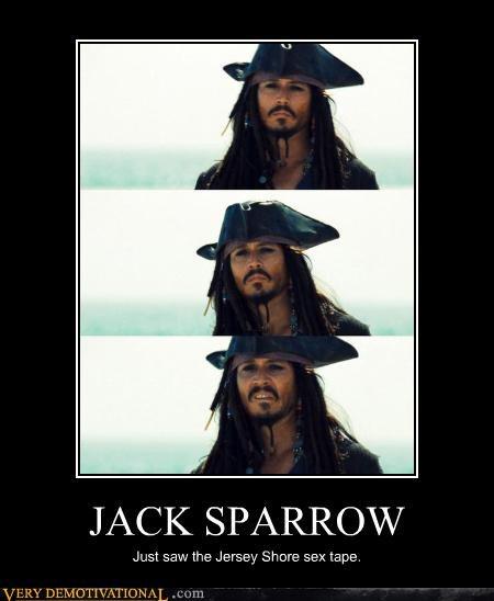 jersey shore jack sparrow funny - 4051612416