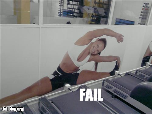 ads,electrical outlet,exercise,failboat,innuendo,lady,placement,stretching