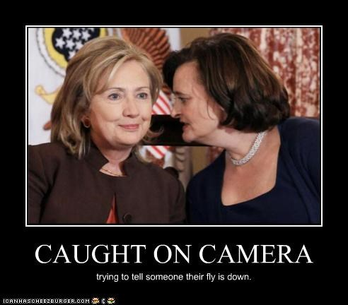 camera,caught,embarrassed,embarrassing,Hillary Clinton,pants,zipper