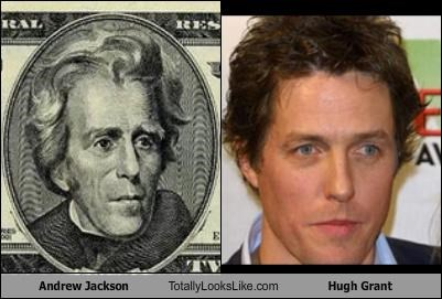 actor Andrew Jackson British hugh grant president